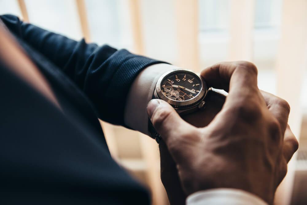 取引時間毎の取引可能時間